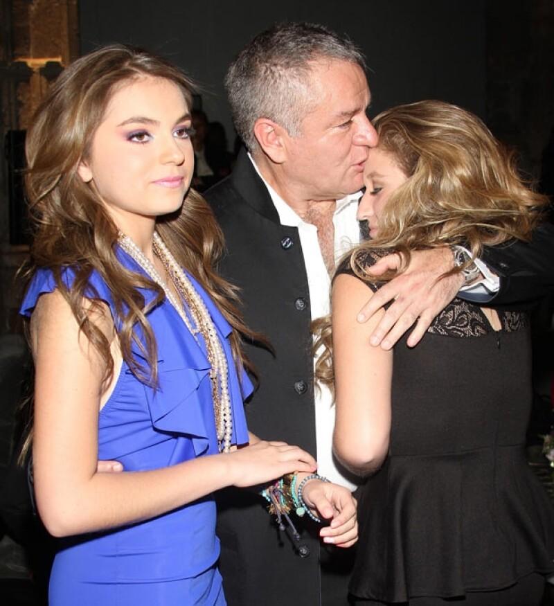 Sofía aseguró que al `Güero´ Castro le costó trabajo aceptar que su hija quería ser actriz.
