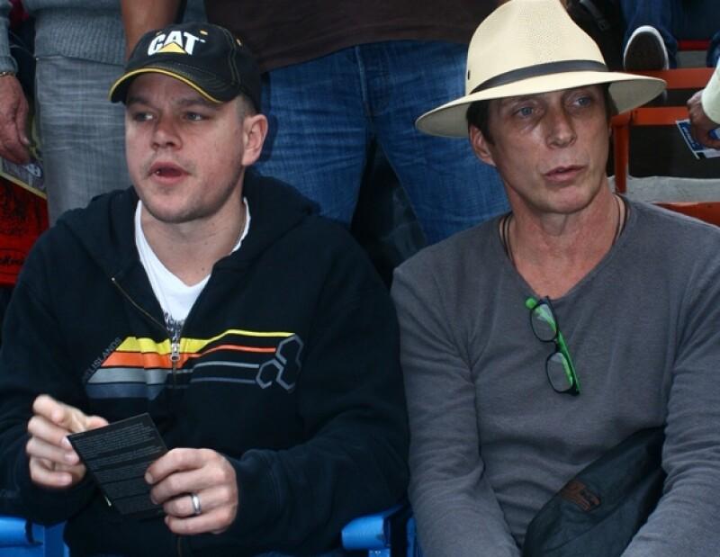 El actor acudió la semana pasada a una corrida en la Monumental Plaza México. Según informaciones, el protagonista de Bourne está en contra de ellas.