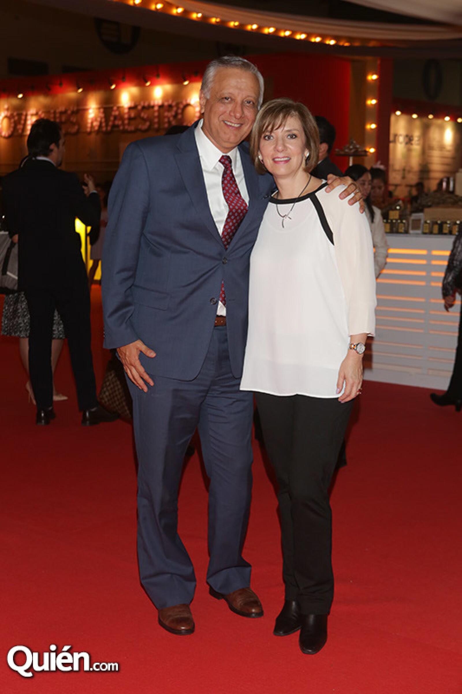 Jorge y Laura Saldaña
