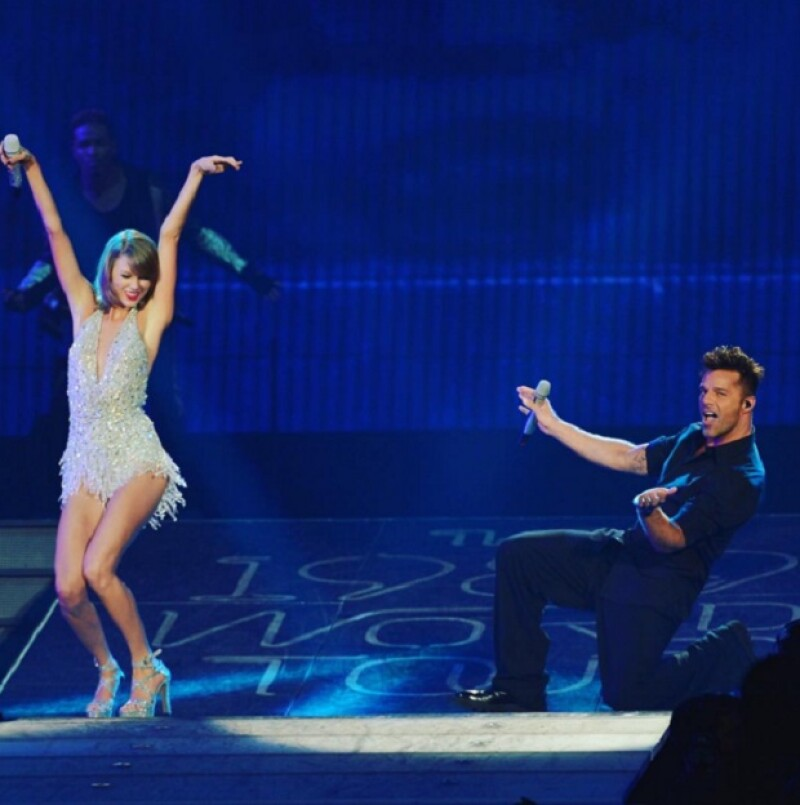 Anteriormente, Ricky formó parte del 1989 World Tour de Taylor Swift.
