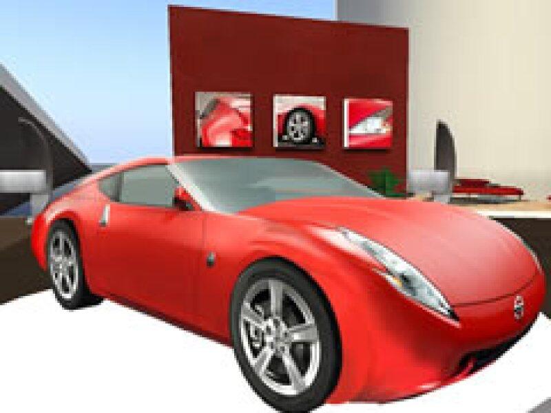 En Second Life el 370Z es gratis, en la vida real cuesta más de 600 mil pesos. (Foto: Cortesía)