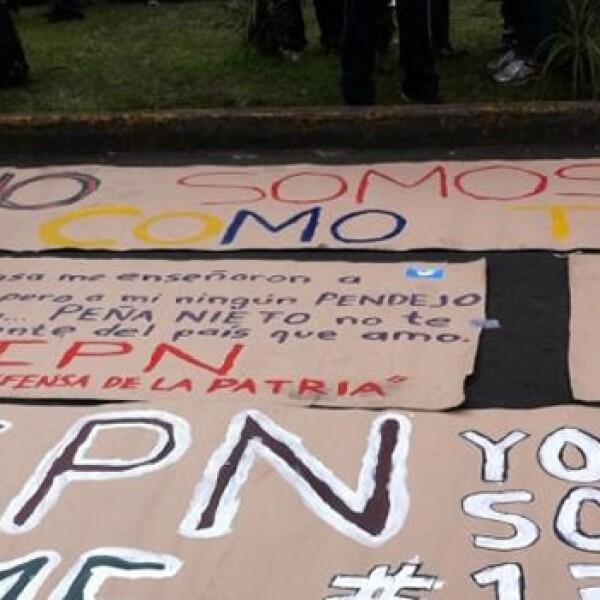 protesta afuera del tribunal yosoy132