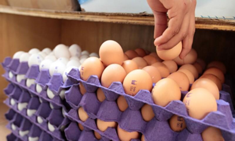 El precio del huevo ha aumentado 7.2% en lo que va de 2015. (Foto: Notimex )