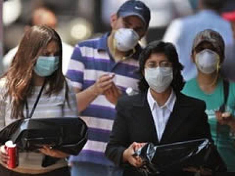 México aplicó medidas de fase 6 en una alerta sanitaria. (Foto: AP)