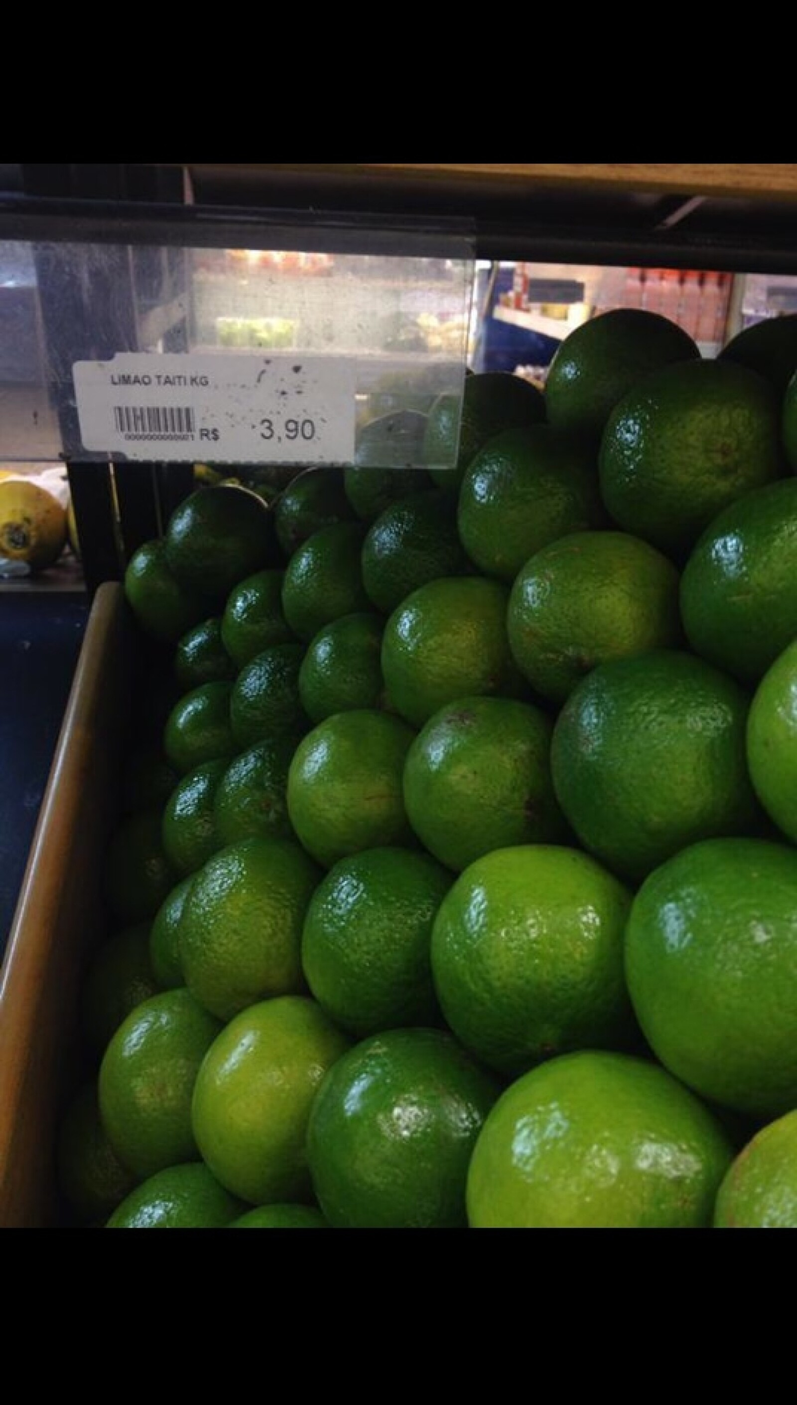 En Brasil, un importante exportador de limón como México, el kilo se vende a 3.90