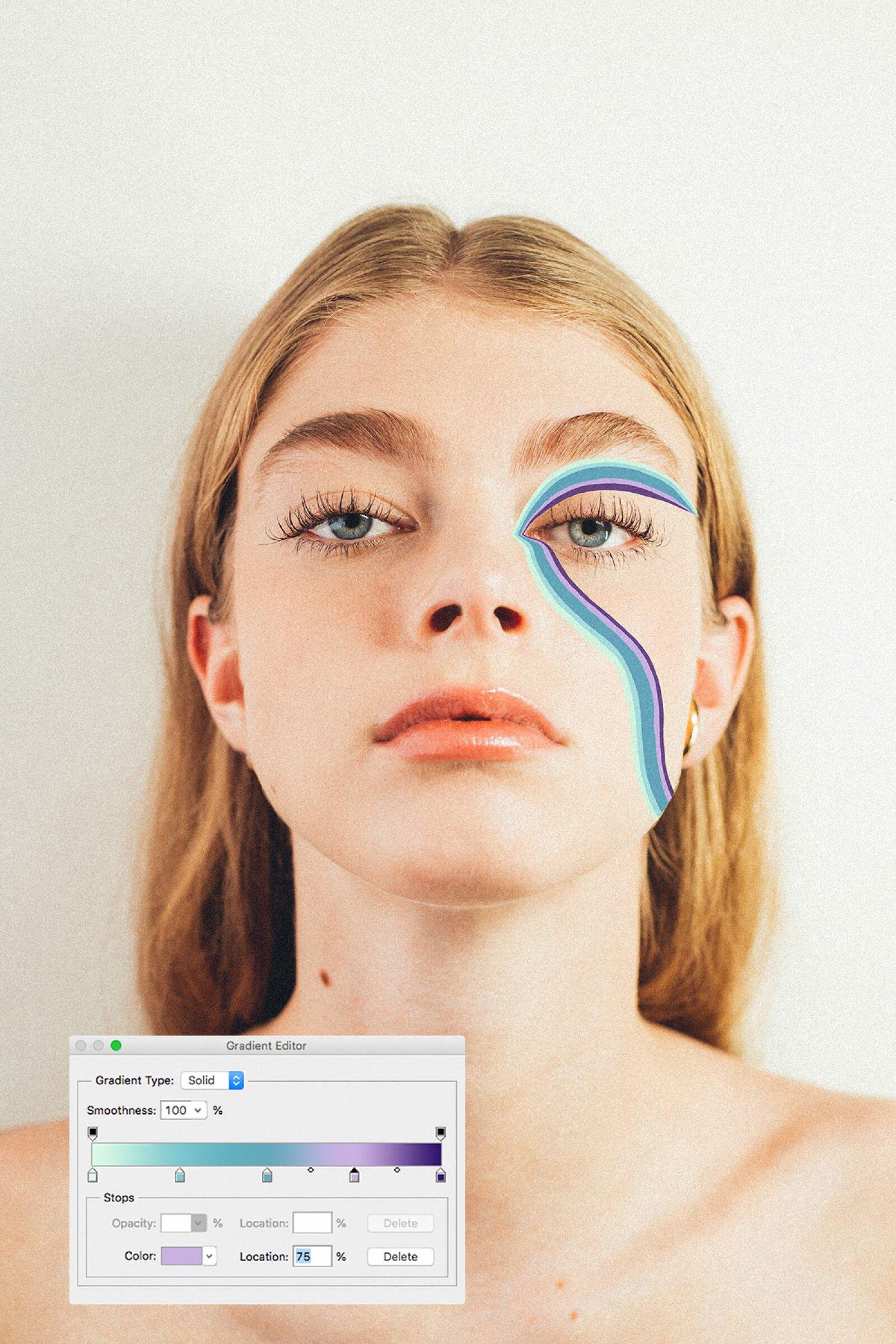 Maquillaje en iPad