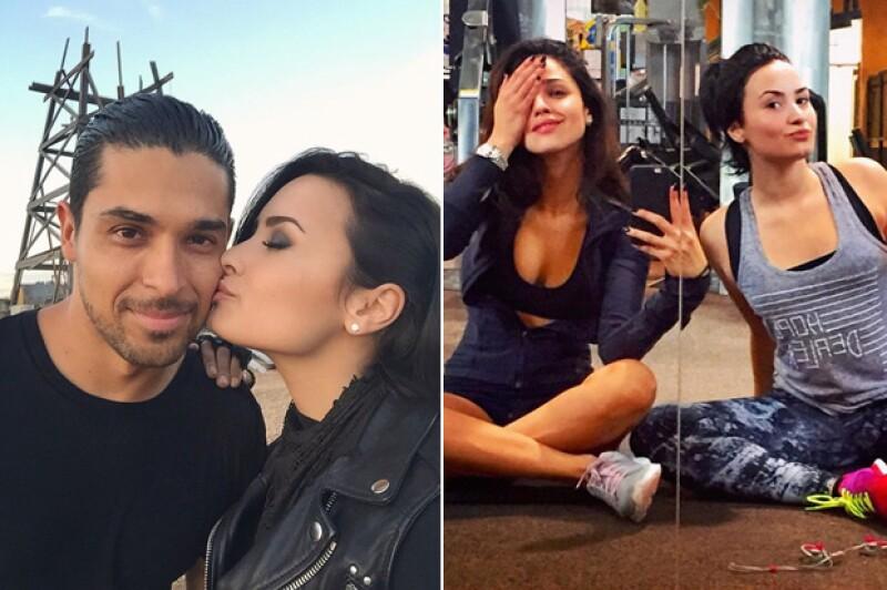 Demi compartirá más tiempo con Wilmer y Eiza en el set.