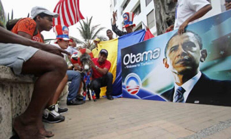 Obama evitó un potencial momento tenso luego de que se anunciara que el presidente venezolano Hugo Chávez no asistiría a la Cumbre. (Foto: Reuters)