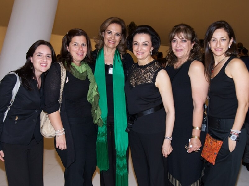 La consuegra de Carlos Slim, Gloria Garza de Torruco asistió al Soumaya junto con la Asociación Gilberto