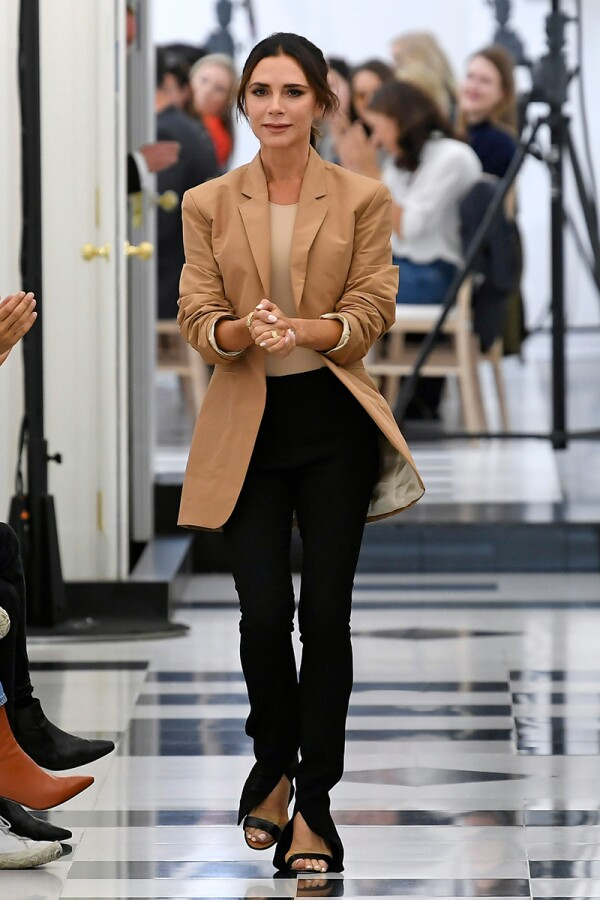 Victoria Beckham show, Runway, Spring Summer 2019, London Fashion Week, UK - 16 Sep 2018