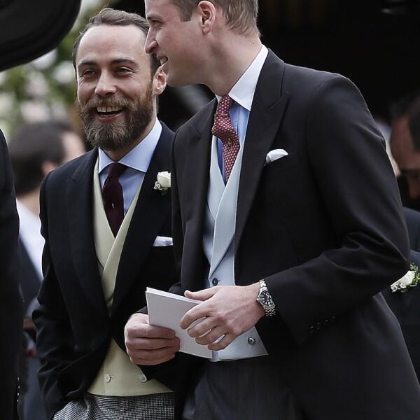 James Middleton y Príncipe William