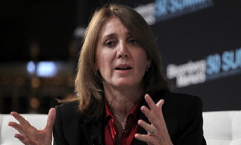 Ruth Porat se convertirá en directora financiera de Google en mayo. (Foto: Getty Images)