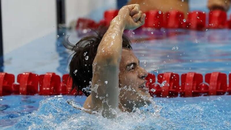 gustavo sanchez paralimpicos londres juegos natacion
