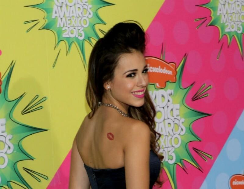 El primer tatuaje que Danna Paola presumió a sus fans.
