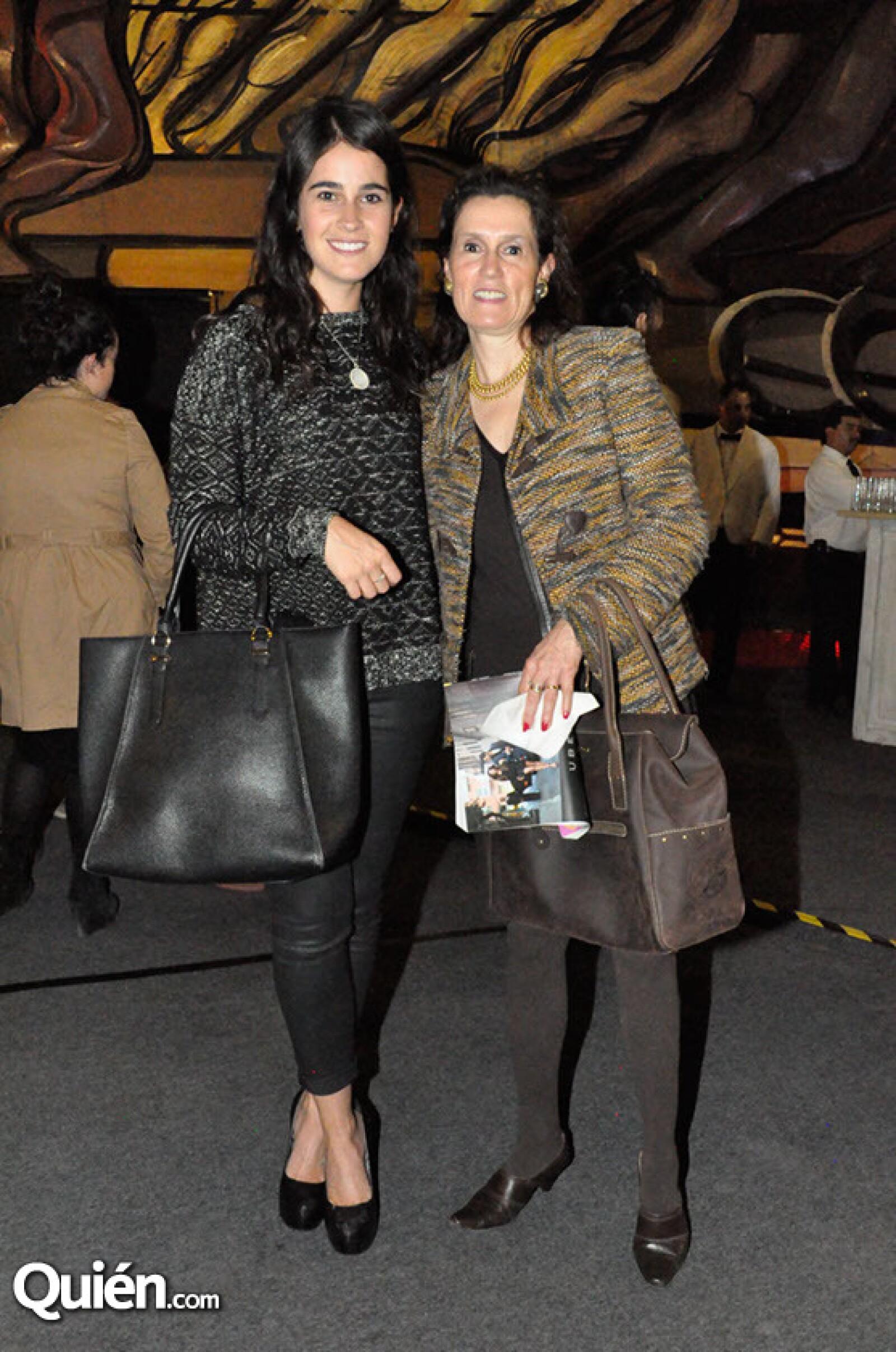 Fernanda Serrano y Laura Carrera