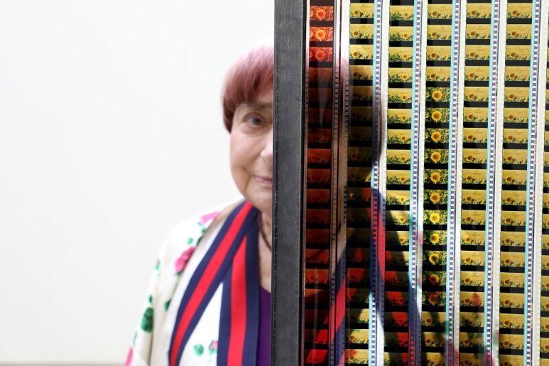 "Vernissage Exposition Agnes Varda ""Une Cabane De Cinema: La Serre Du Bonheur"" At Galerie Nathalie Obadia"