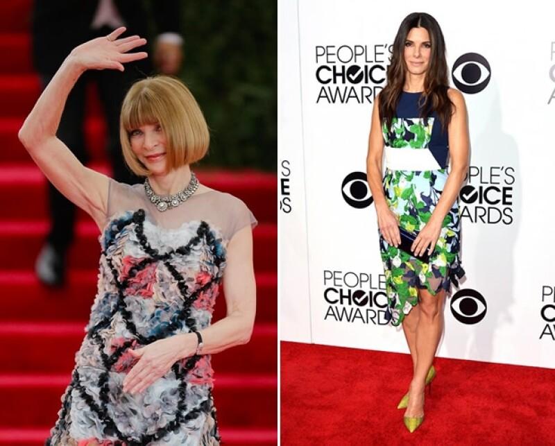 Anna Wintour y Sandra Bullock son algunas celebs que han usado esta tendencia.