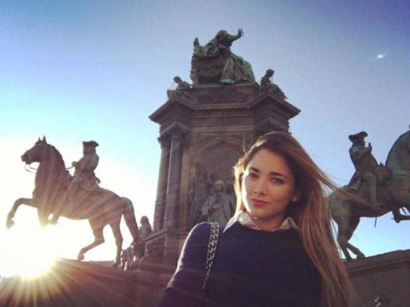 Entre las ciudades que ha visitado están Madrid, Viena, Praga, Mónaco y Venecia.
