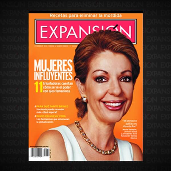 A tres años del primer informe de 'Mujeres influyentes', habían aparecido más triunfadoras. En 2000 destacó María Asunción Aramburuzabala y en 2011 Fortune la ubicó como la 59ª mujer más influyente del mundo, fuera de Estados Unidos.