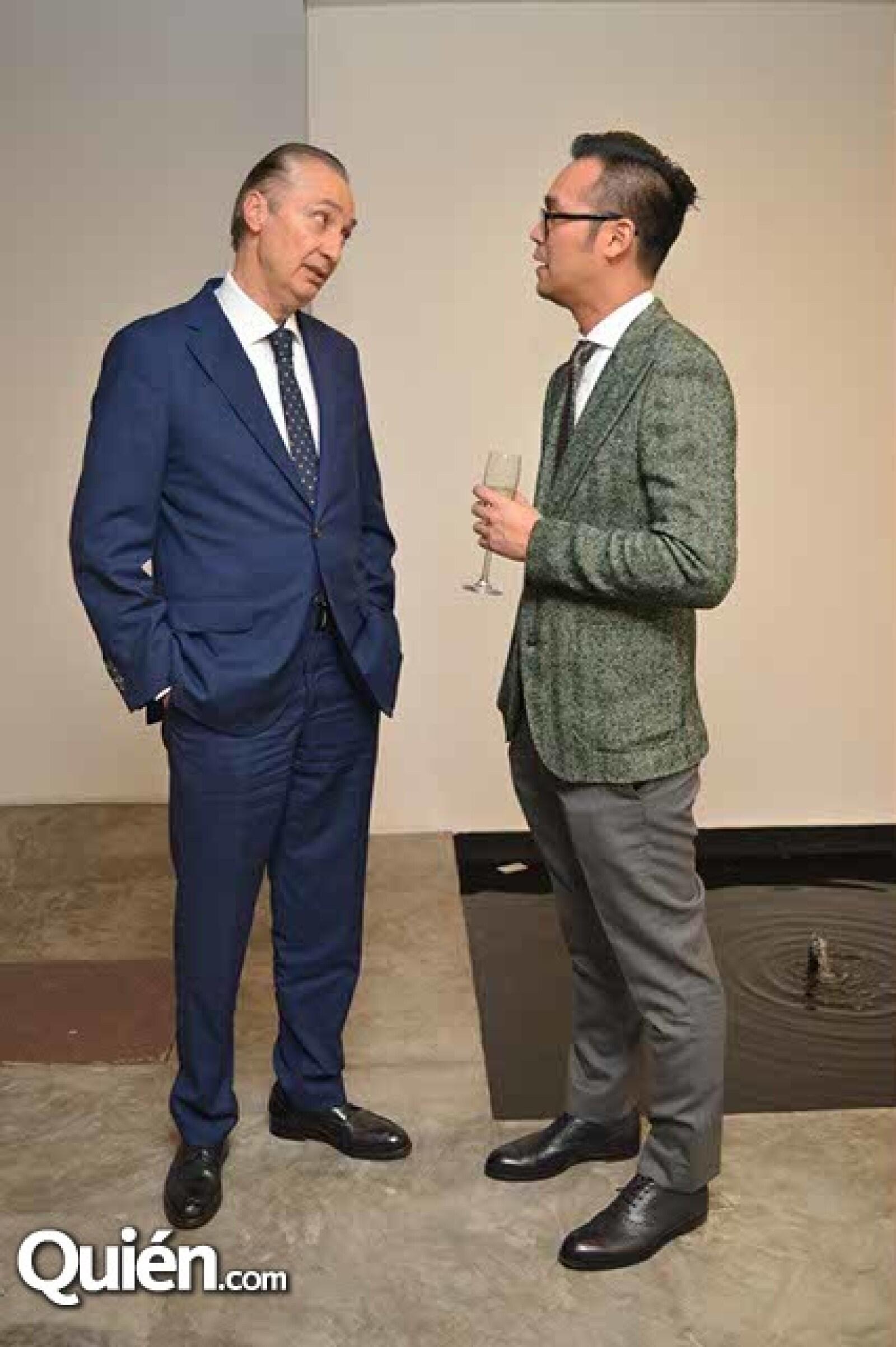 Ernesto Izquierdo y Sung An.
