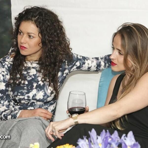 Ana Ransanz y Marcela Gómez