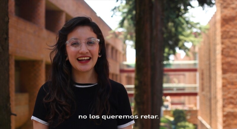 Alumnos de la Ibero