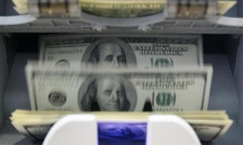 El Banco de México fijó el tipo de cambio (FIX) en 12.8038 pesos. (Foto: Reuters)