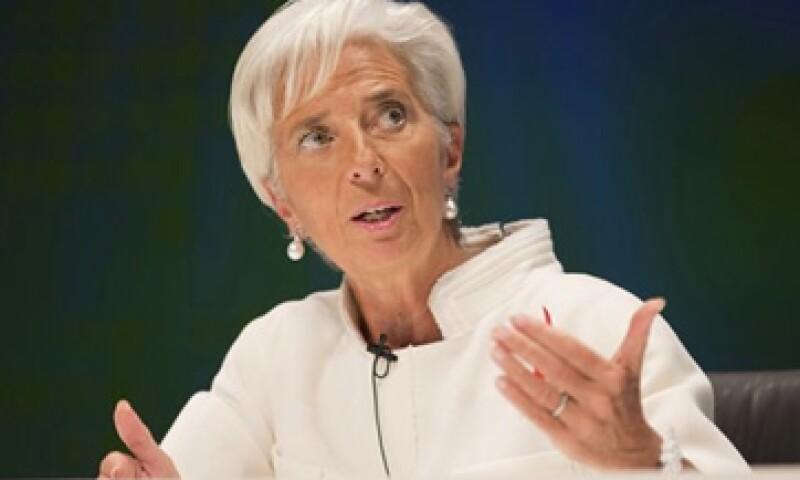 Christine Lagarde, directora del FMI, asegura que las reducciones al déficit deben ser compatibles con las circunstancias de cada país.   (Foto: Reuters)
