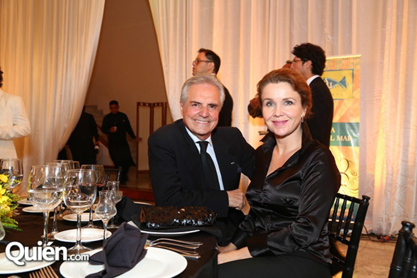Marc y Renata Pariente