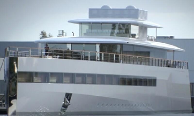 El yate de Steve Jobs fue incautado por las autoridades holandesas hasta que se resuelva la disputa entre el diseñador del navío y los familiares de Steve Jobs. (Foto tomada de Fortune)