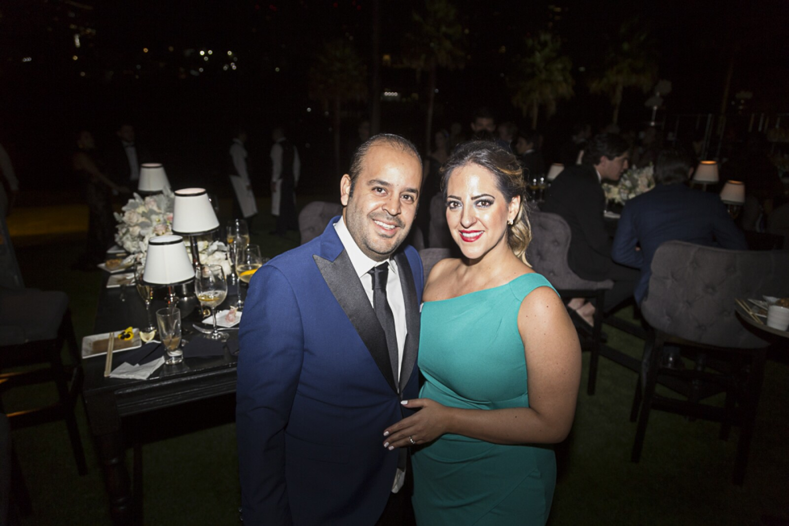 Daniel Verdugo,  Verónica Ealy