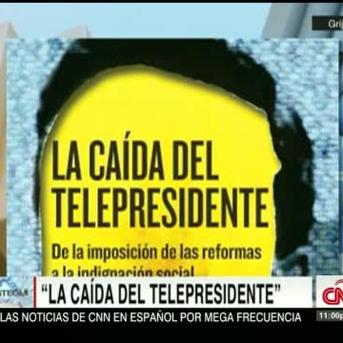 La caída del telepresidente, un libro de Villamil