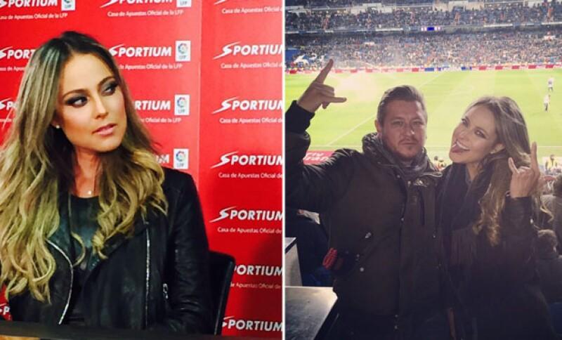 Vanessa Huppenkothen viajó recientemente a Madrid para un evento deportivo.