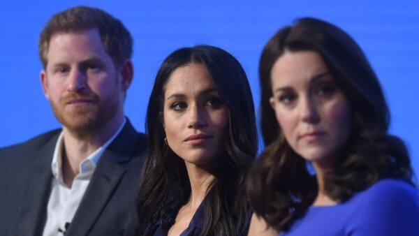 Príncipe Harry, Meghan Markle y Kate Middleton