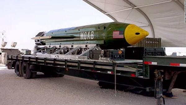 EU lanza 'la madre de todas las bombas' sobre Afganistán