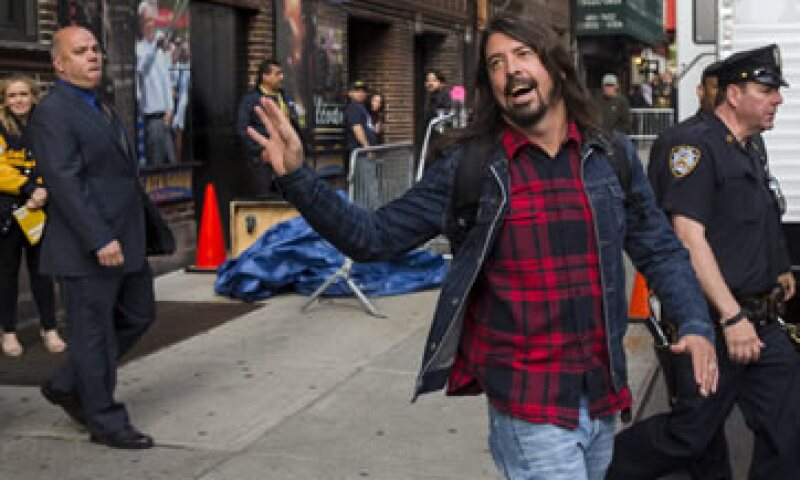 Letterman, Taylor Swift y Paul McCartney, los temas del fin de semana de Dave Grohl. (Foto: Reuters )