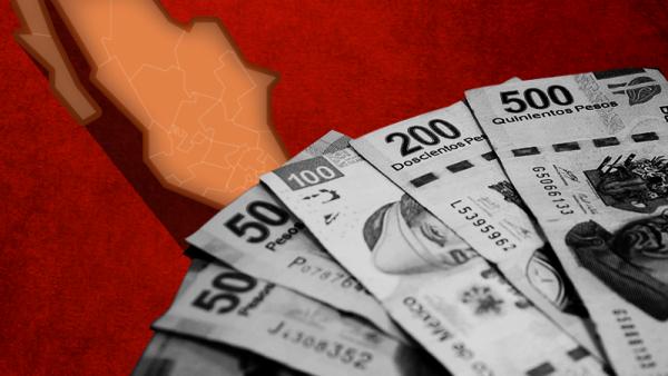 Quintana Roo y Coahuila tienen altos niveles de deuda con respecto a sus ingresos totales.