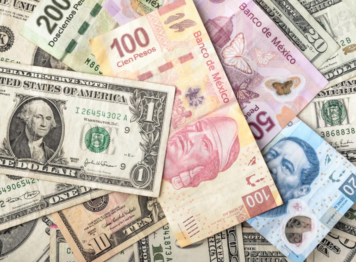 El peso pierde su racha positiva frente al dólar