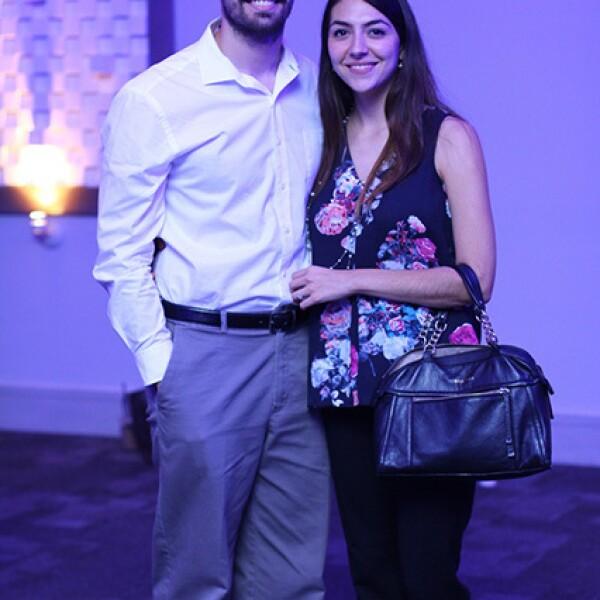 Daniel Fernández y Valeria Treviño