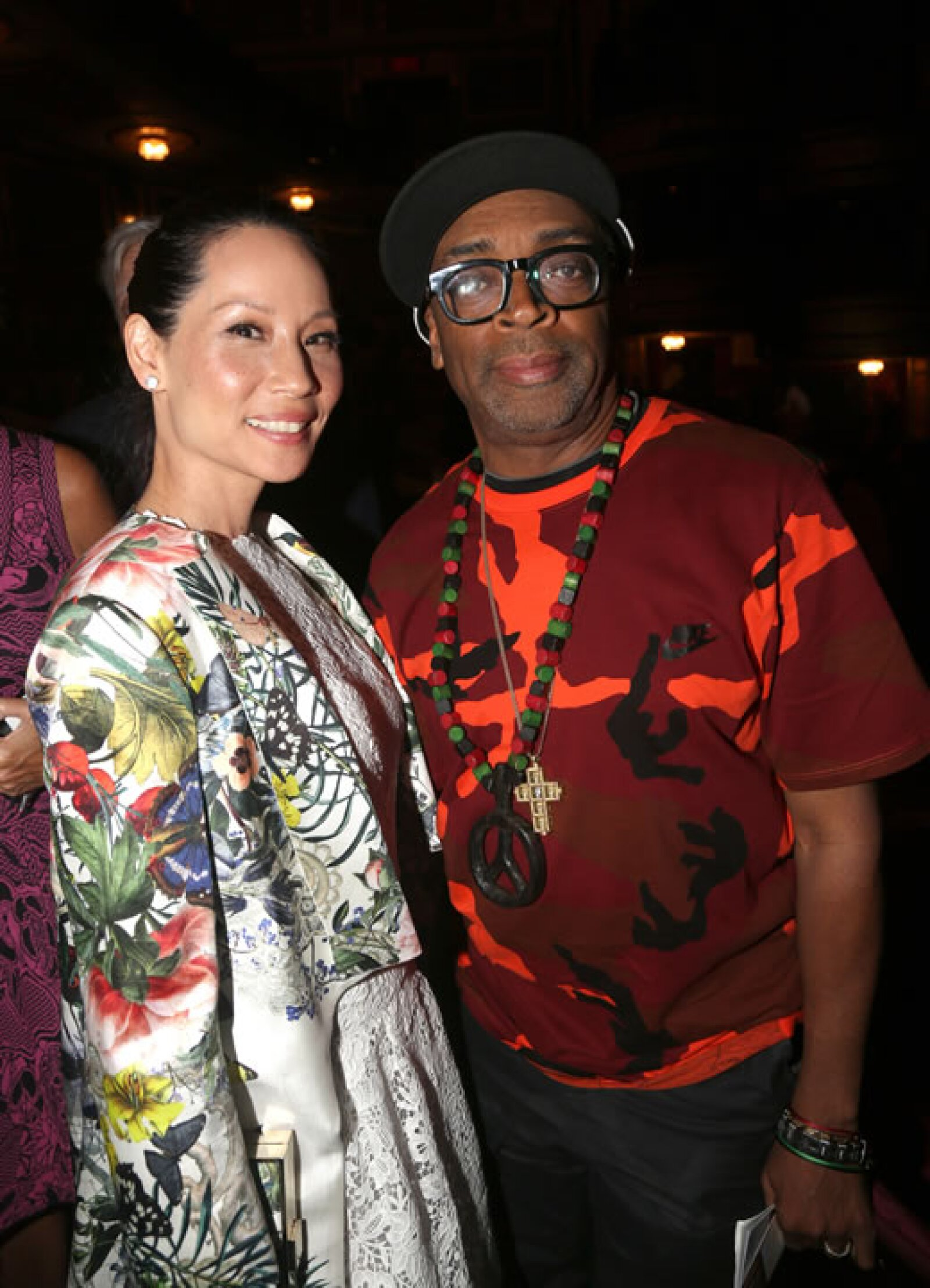 Lucy Liu y Spile Lee.