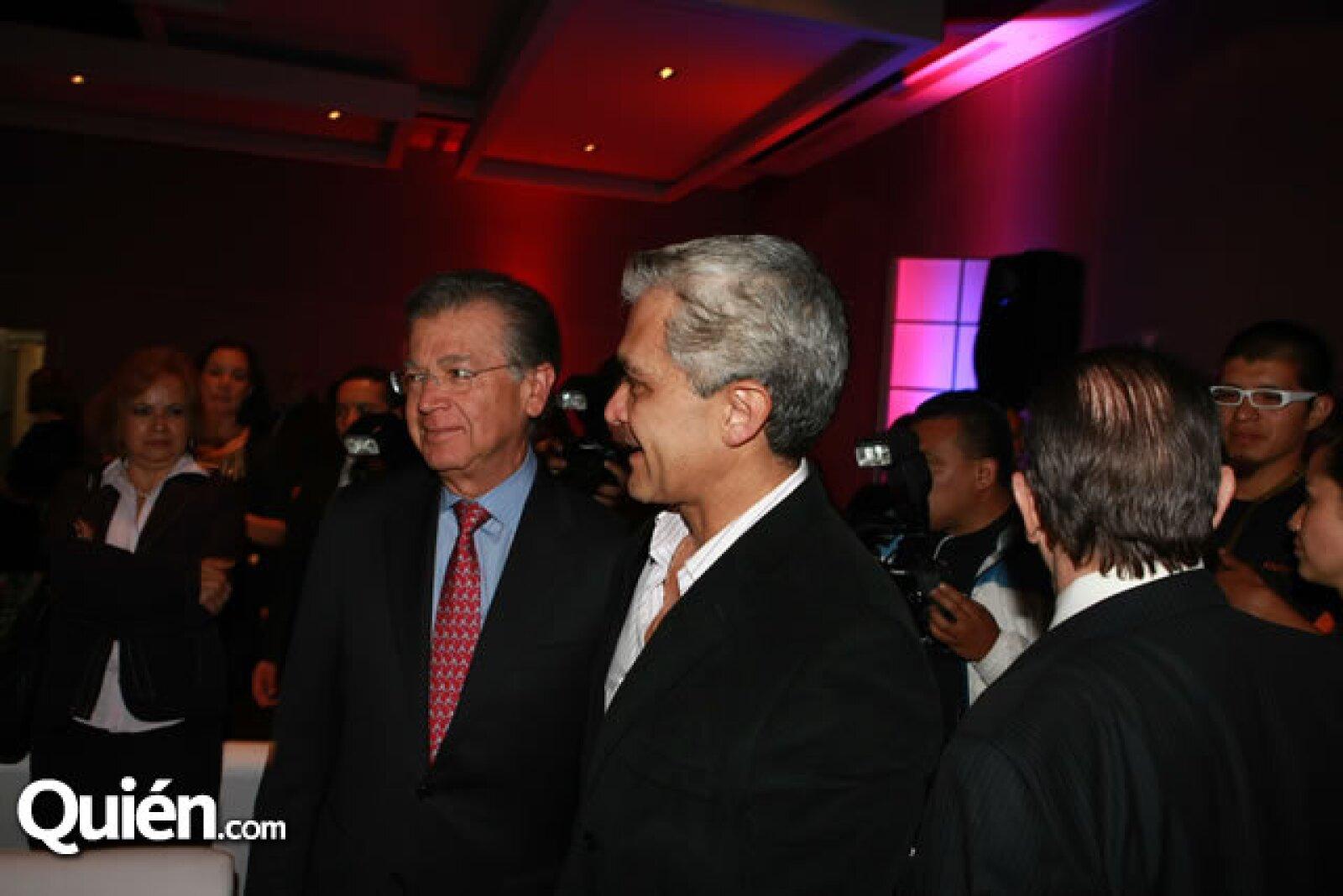 Hector Rangel Domene y Miguel Ángel Mancera