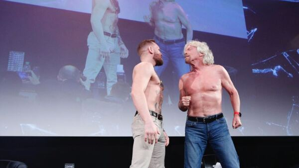 Richard Branson y Conor McGregor