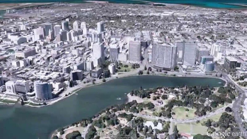 Google Earth 3D vistas
