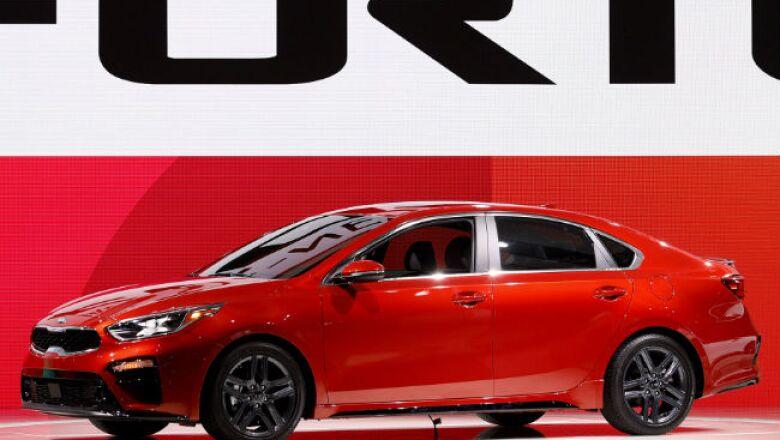 Auto Show Detroit Kia Forte