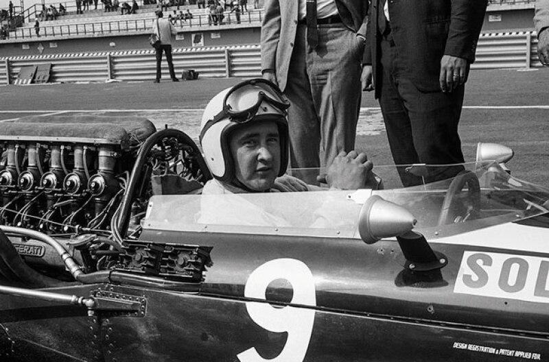 El mexicano Moisés Solana en el Gran Premio de 1966.