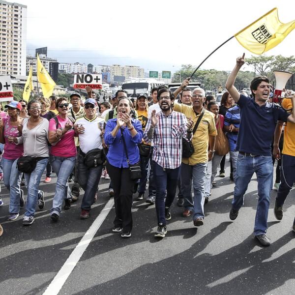 Una asamblea que protesta