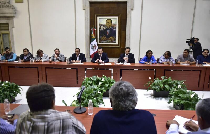 Reunión Segob, SNTE-CNTE