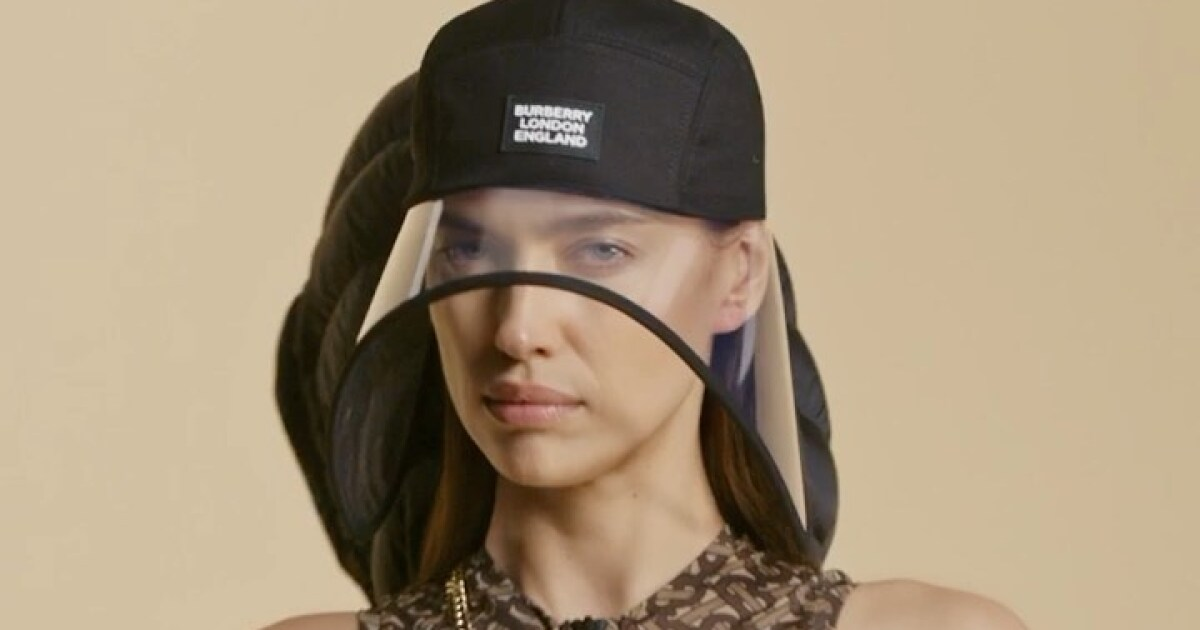 Burberry makes a nod to the new normal with this accessory