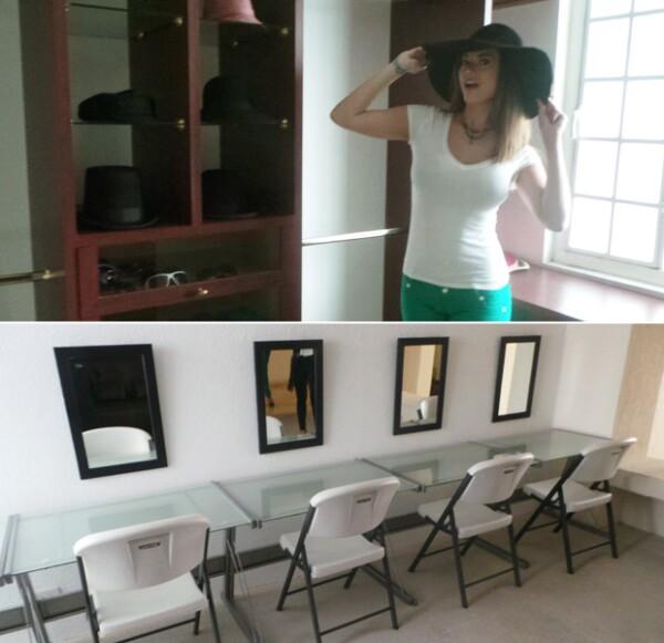 Las instalaciones están listas para recibir a los estudiantes y aspirantes a modelos.