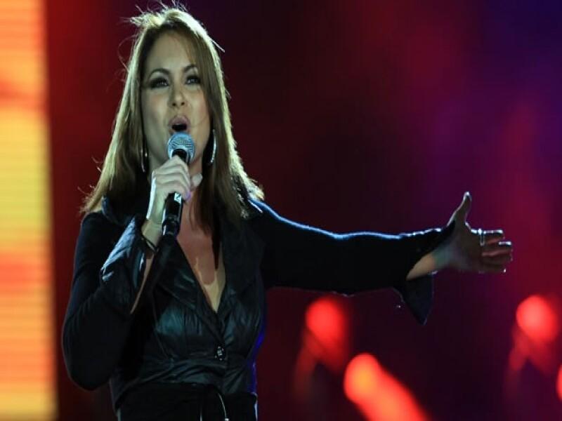 La cantante podría ser considerada para contender en la candidatura como Gobernadora por el Estado de México, así lo afirmó su publirrelacionista.